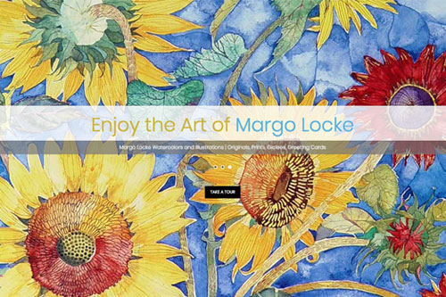Margo Locke web design